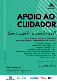 apoio cuidador informais formacao 1semestre2020 venteira cartaz 200